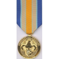 Anodized  Inherent Resolve Campaign Medal