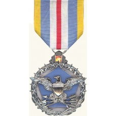 Anodized Defense Superior Service Medal