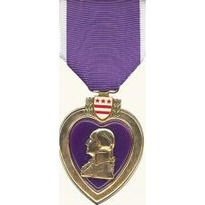 Anodized Purple Heart