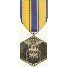 Anodized Air Forces Commendation Medal