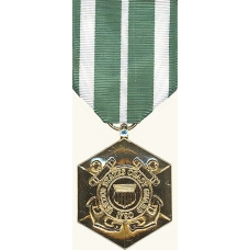 Anodized Coast Guard Commendation Medal