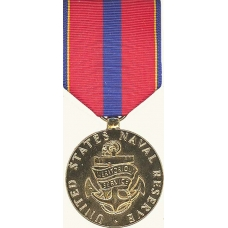 Anodized Navy Reserve Meritorious Service Achievement Medal