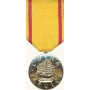 Anodized China Service Medal