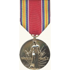 Anodized World War II Victory Medal