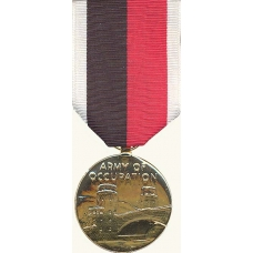 Anodized Army of Occupation Medal