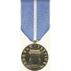 Anodized Korean Service Medal