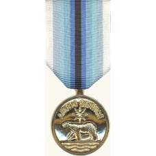Anodized Coast Guard Arctic Service Medal