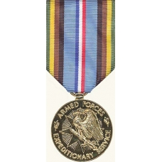 Anodized Armed Forces Expedition Medal