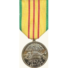 Anodized Vietnam Service Medal