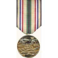 Anodized South West Asia Service Medal