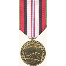 Anodized Afghanistan Campaign Medal