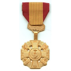 Anodized Vietnam Gallantry Cross Medal