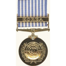 Anodized United Nations Service Medal (Korea)Medal