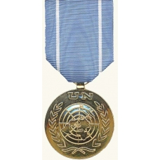 Anodized United Nations Medal