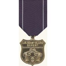 Anodized Coast Guard Pistol Marksman Medal