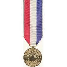 Anodized Mini Coast Guard 9-11 Medal