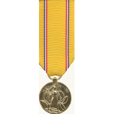 Anodized Mini American Defense Service Medal