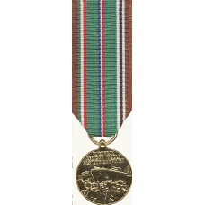 Anodized Mini Eur-African-Mid Eastern Campaign Medal