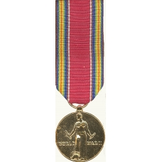 Anodized Mini World War II Victory Medal