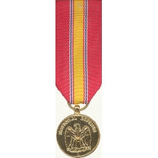 Anodized Mini National Defense Service Medal