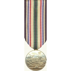 Anodized Mini South West Asia Service Medal