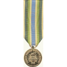 Anodized Mini Armed Forces Service Medal