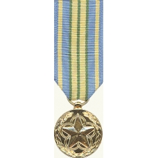 Anodized Mini Outstanding Volunteer Service Medal