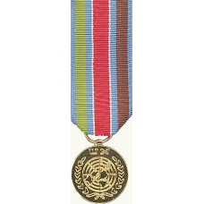 Anodized Mini UN Protection force in Yugoslavia Medal