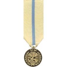 Anodized Mini UN Iraq Kuwait Observation Group Medal