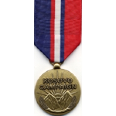 Large Kosovo Campaign Medal
