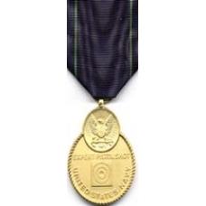Large Navy Pistol Expert Medal