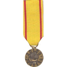 Mini China Service Medal
