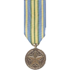 Mini Outstanding Volunteer Service Medal
