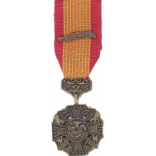 Mini Vietnam Gallantry Cross Medal
